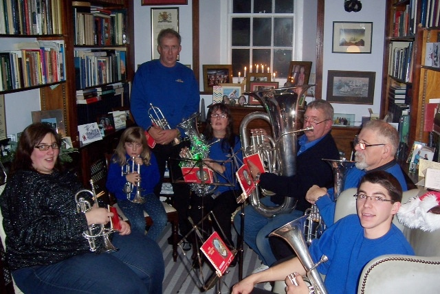 Carols at a private function in Stratton